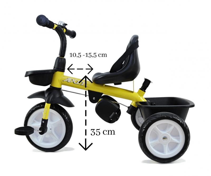 tricikel-Axel