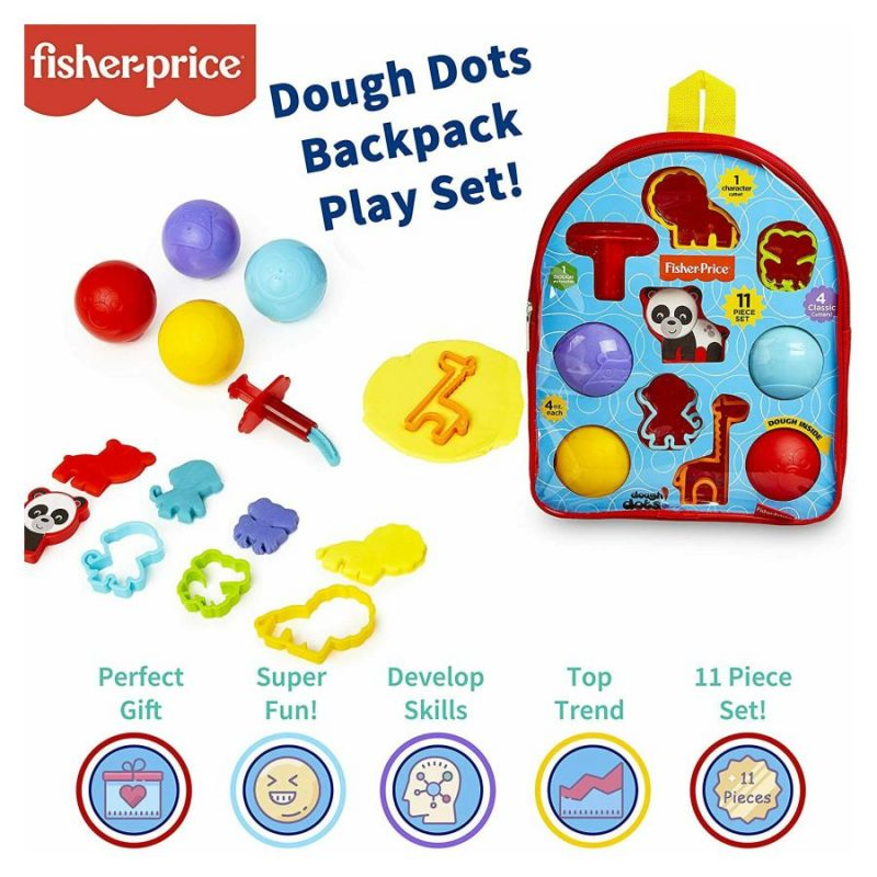 nahrbtnik s plastelinom-Fisher-price