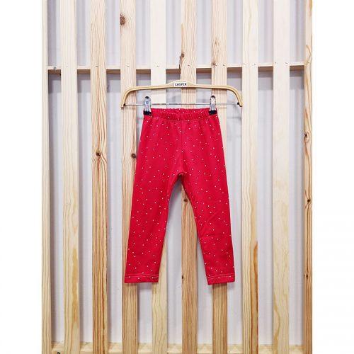 hlače pajkice rdeče