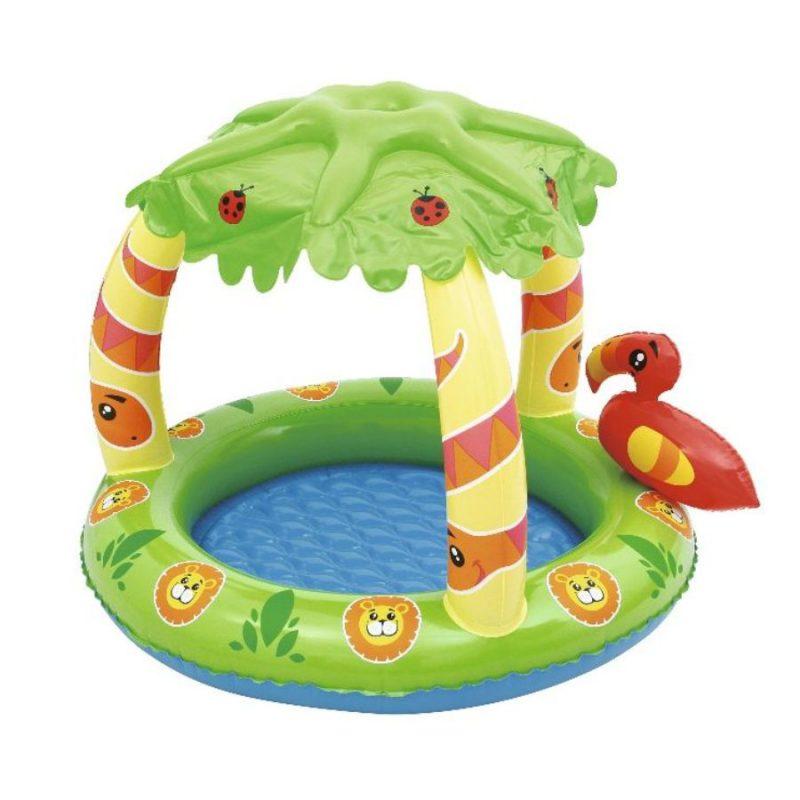 otroški bazen z napihljivo streho